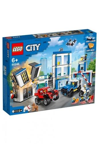 LEGO multi LEGO City Police 60246 Police Station (743 Pieces) 387BCTH61A2F36GS_1