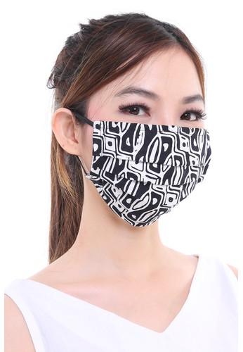 DhieVine Batik black Assorted Batik facemask BLACK EAR-LOOP(3PCS) 816DBES8AD2480GS_1