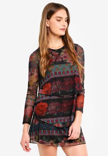 Desigual black Logan Dress FF963AA786103CGS_1