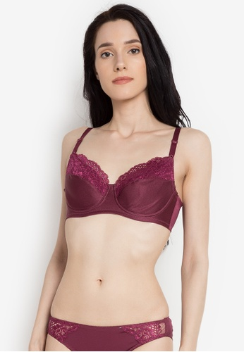 e350559f39 Shop Wacoal Full Cup Lacey Bra Online on ZALORA Philippines