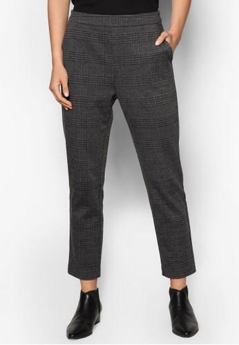 Collection 格紋寬鬆長褲、 服飾、 長褲及內搭褲ZALORACollection格紋寬鬆長褲最新折價