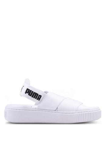 Puma white Puma Platform Sandals PU549SH0SWEKMY_1