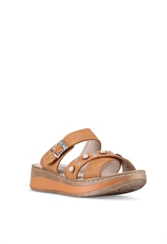 2e1b1148361 20% OFF Louis Cuppers Crossed Strap Sandals RM 74.00 NOW RM 59.00 Available  in several sizes
