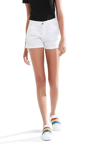 London Rag white Trendy Colorful Shorts F326CAA8F32088GS_1