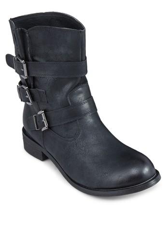 多扣環中zalora 男鞋 評價筒靴, 女鞋, 鞋