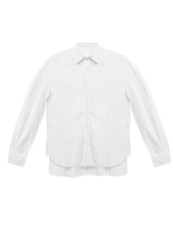 LOWRYS FARM white Long Sleeves Buttoned Shirt C31E7AAA403514GS_1
