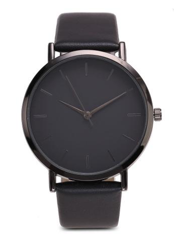 NUVEAU black Round Face Black/Black Strap Watch E9D11ACA6BDA85GS_1