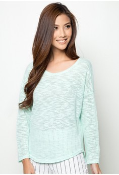 The Minty Sweater