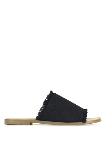 Betts black Sand Dune Slip-On Sandals E6D54SH818B8E9GS_1