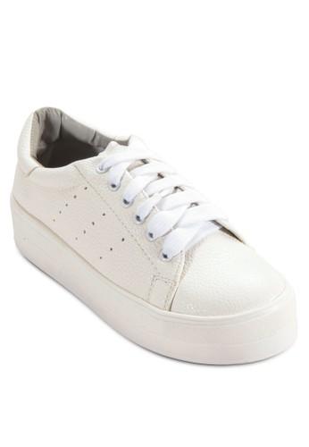 厚底繫帶休閒鞋, 女鞋, esprit服飾鞋
