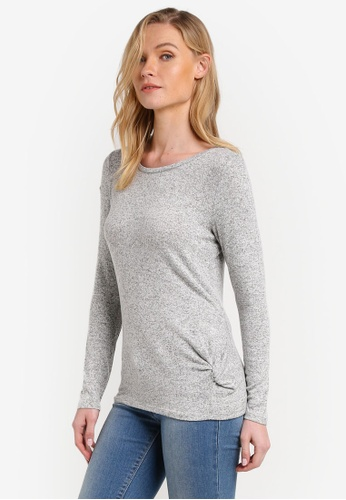 Esprit grey Long Sleeve T-Shirt ES374AA0RNTZMY_1