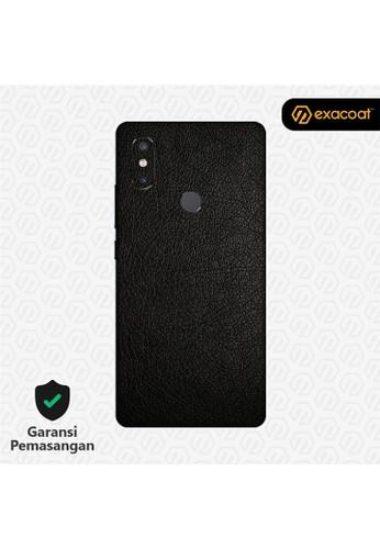 Exacoat Xiaomi Mi Mix 2s 3M Skins Leather Black - Cut Only 54ABDESE457E3CGS_1