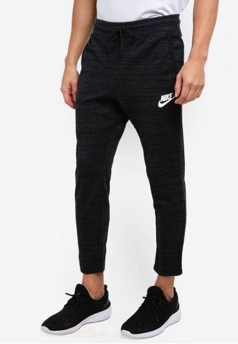 Nike black and white Men's Nike Sportswear Advance 15 Pants NI126AA0STUHMY_1