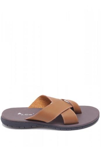 Dr. Kevin brown Dr. Kevin Men Casual Sandals 17191 - Camel DR982SH53MJYID_1