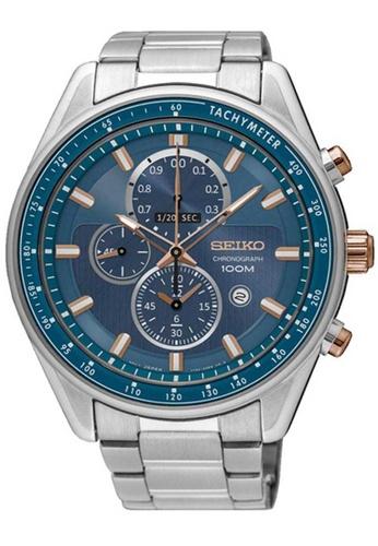 Seiko multi Seiko Criteria Blue and Silver Stainless Steel Watch 02825AC31831EAGS_1