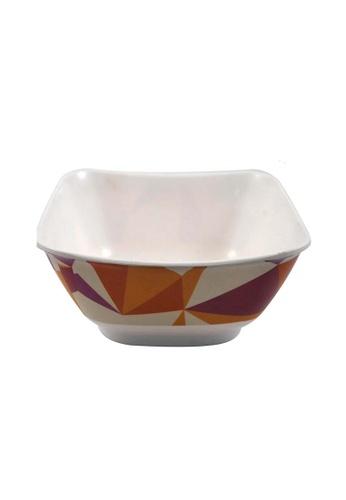 Slique brown Premium Melamine Square Bowl 20inch 3EF54HL76D7A26GS_1