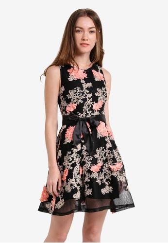 Megane black Raissa Dress ME617AA0RR3DMY_1
