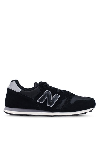 New Balance black and grey 373 Lifestyle Shoes C28A8SHFC53B23GS_1
