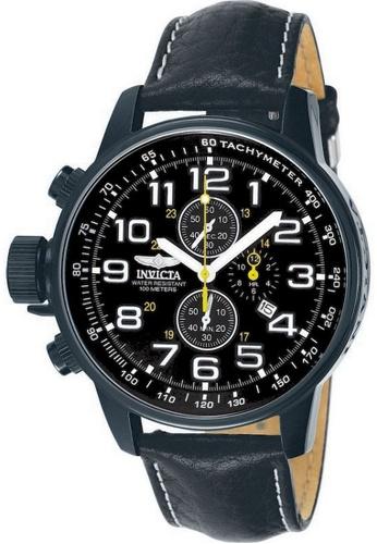 INVICTA black Invicta I-Force Men Chronograph 46mm Quartz Military Field Watch 3332 BBFFEAC9BA5AD9GS_1