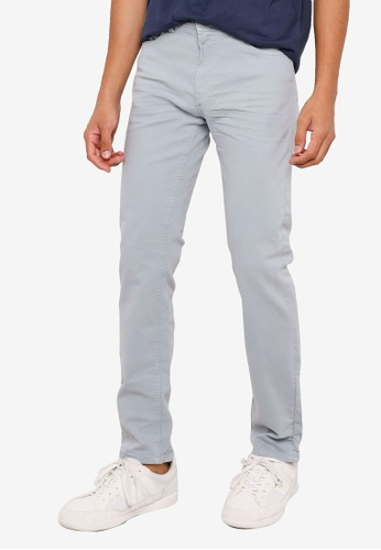 Springfield blue Wash Slim Fit Jeans B979AAA195DED5GS_1