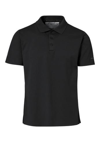 Porsche Design black PUMA x Porsche Design Black Men's Polo Shirt for Men Casual Sport BA5AAAAE59523EGS_1