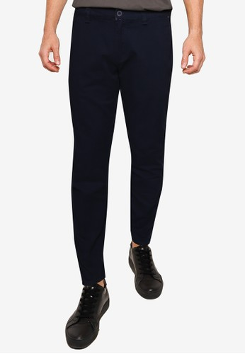 Fidelio navy 430 Slim Fit Chinos 65D6AAA52F0018GS_1