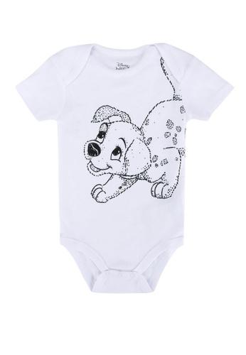 FOX Kids & Baby white Disney Short Sleeve Romper 2AA60KA0938FF7GS_1