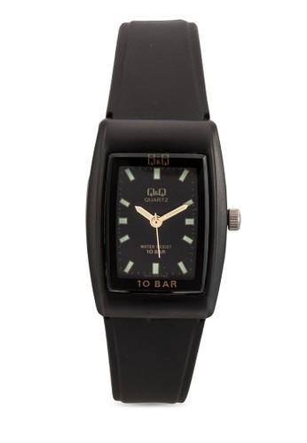 VP3esprit hong kong1J010Y 方框樹脂手錶, 錶類, 飾品配件
