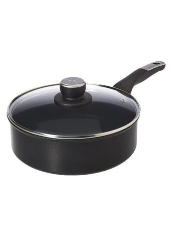 TEFAL Tefal Unlimited Black IH Saute-pan 24cm w/lid G25532 081FAHL3E1D658GS_1