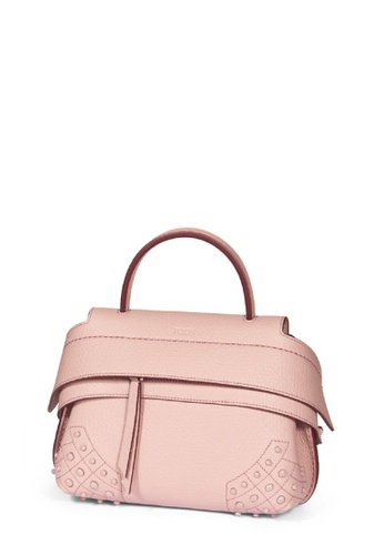 TOD'S pink TOD'S MICRO WAVE BAG DCD10ACC3182DEGS_1