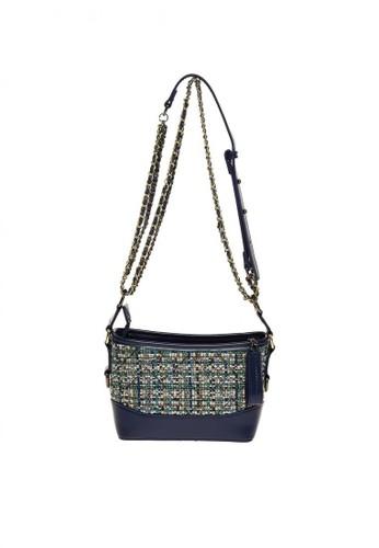 Promesa blue PROMESA Athena Fabric Crossbody - Blue BAB3EACE5B5397GS_1