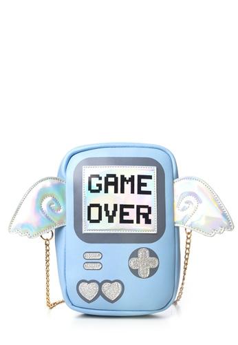 Dazz blue Game Over Crossbody Bag - Blue DA408AC47GPOMY_1