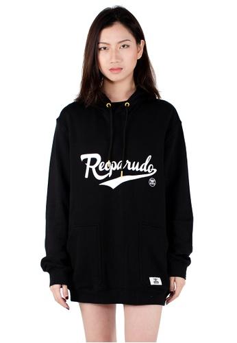 Reoparudo black RPD Reflective Signature Printed Hoodie (Black) 20F04AA9F0F7EDGS_1