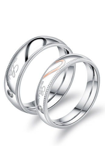 Trendyshop multi Matching Heart Couple Rings Set A6860AC62A957EGS_1