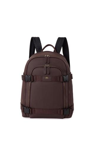 Charles Berkeley brown Charles Berkeley Browns Backpack (KP-19031) 60228ACB47DD8BGS_1