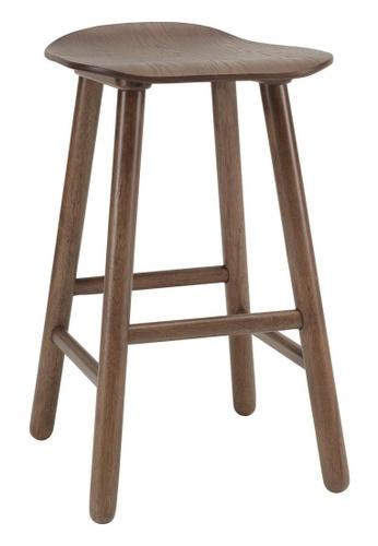 DoYoung brown HETTY (SH60cm Walnut) Counter Stool 6B101HL68BB890GS_1