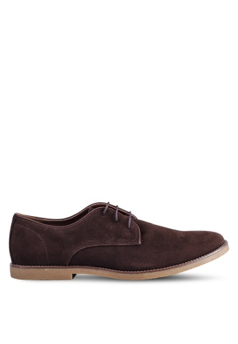 Topman brown Spark Boat Shoes 3EEE8SH91BDE34GS_1
