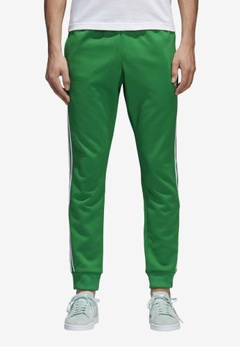 adidas green adidas originals sst track pants AD372AA0SUXYMY_1