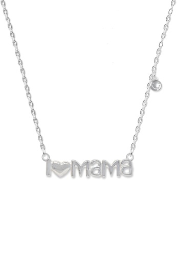 SC Tom Silver silver I love Mama Center Chain-TCC036 SC872AC25FHQPH_1