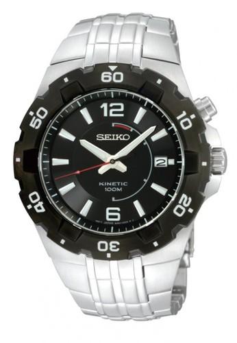 SEIKO silver Jam tangan Seiko Kinetic SKA445 strap Stainless steel silver  SE382AC0UHJNID 1 6e0e1b20bf