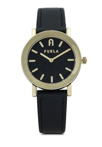 FURLA Watches 黑色 and 金色 Gold Dress Watch 5E0CCAC5FF0B66GS_1