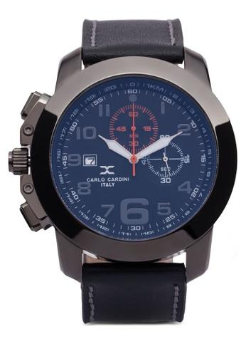 Carlo Cardini black Carlo Cardini Watch 4506G-GM-STR-4 CA038AC06IYVMY_1