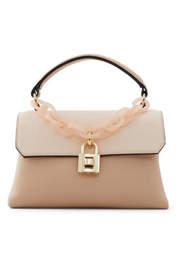 Call It Spring beige True Top-Handle Bag 65198ACFA2C898GS_1