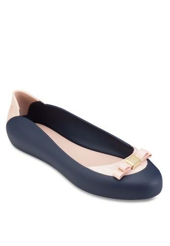 Pump It 蝴esprit 香港蝶結平底鞋, 女鞋, 芭蕾平底鞋