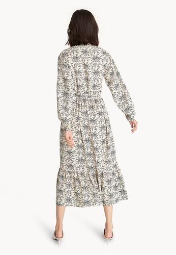 c61c0a694a9 Buy Pomelo Long Sleeve Boho Maxi Dress - White Online