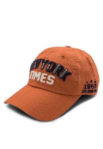 『紐約時報esprit台灣網頁』文字棒球, 飾品配件, 帽飾