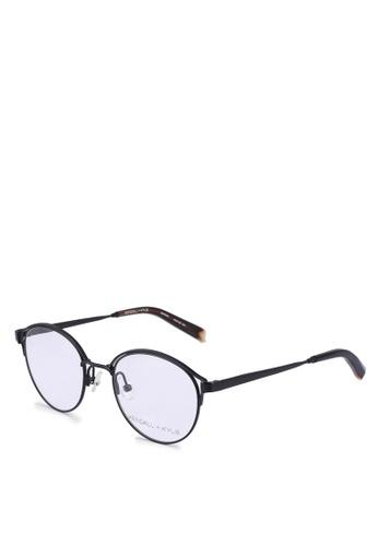 Kendall + Kylie black Samara Glasses 50933GL98723ABGS_1