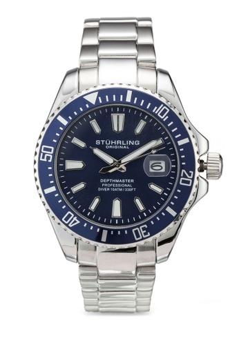 Stuhrling Original silver Depthmaster 3950A Watch 31314AC1416CD5GS_1