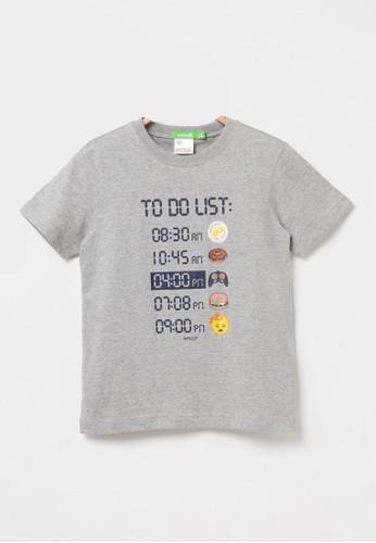 Bossini grey Bossini Kids Boy T-Shirt H Grey (13086704097) 7C9F6KA2E1B6BBGS_1