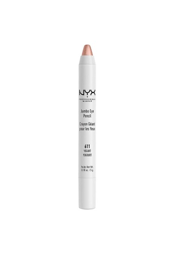 NYX Professional Makeup beige NYX Professional Makeup Jumbo Eye Pencil -  YOGURT 0807BBEA54A246GS_1